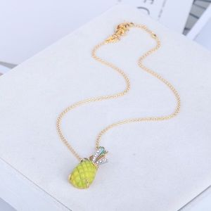 Alexis Bittar pineapple necklace